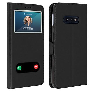 Avizar Etui folio Noir pour Samsung Galaxy S10e Etui folio Noir Samsung Galaxy S10e