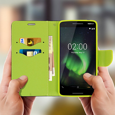 Acheter Avizar Etui folio Bleu pour Nokia 2.1