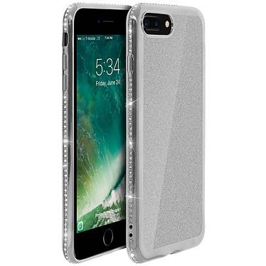 Avizar Coque Argent pour Apple iPhone 7 Plus , Apple iPhone 8 Plus Coque Argent Apple iPhone 7 Plus , Apple iPhone 8 Plus