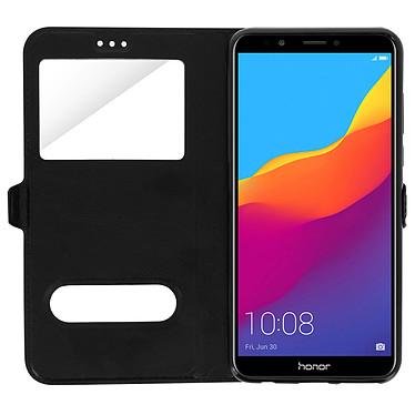 Avis Avizar Etui folio Noir pour Honor 7C , Huawei Y7 2018