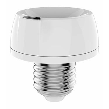 Philio Tech Douille Smart Dimmer Z-wave + E27 PHI_PAD02 Douille variateur permettant de contrôler toutes les lampes E27 à E14 via le protocole Z-Wave.
