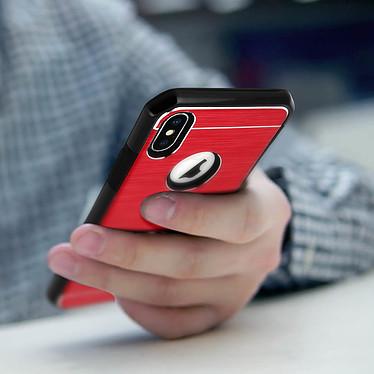 Avis Avizar Coque Rouge Rigide pour Apple iPhone X , Apple iPhone XS