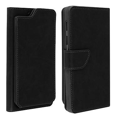 Avizar Etui folio Noir pour Compatibles avec Smartphones de 5,3 à 5,5 pouces Etui folio Noir Compatibles avec Smartphones de 5,3 à 5,5 pouces