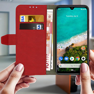 Acheter Avizar Etui folio Rouge pour Xiaomi Mi A3