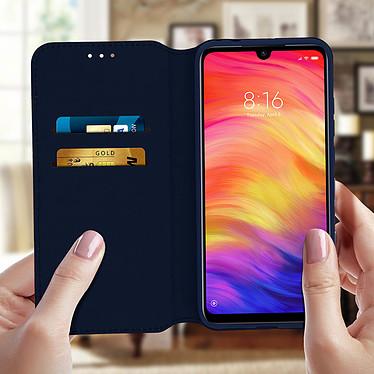 Acheter Avizar Etui folio Bleu Nuit pour Xiaomi Redmi Note 7