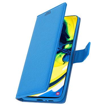 Avizar Etui folio Bleu pour Samsung Galaxy A80 pas cher