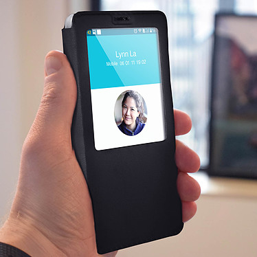 Avis Avizar Etui folio Noir pour OnePlus 6