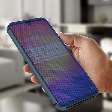 Avis Avizar Etui folio Bleu pour Xiaomi Redmi Note 7