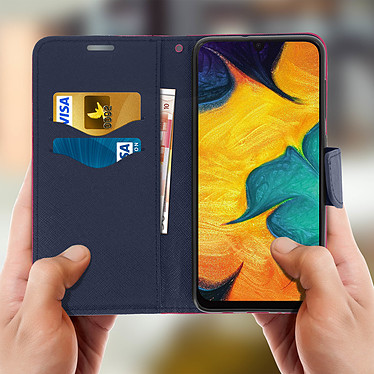 Acheter Avizar Etui folio Fuchsia pour Samsung Galaxy A30