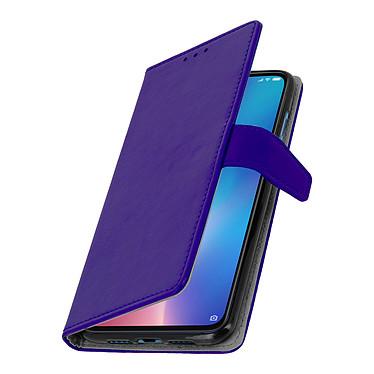 Avizar Etui folio Violet Éco-cuir pour Xiaomi Mi 9 pas cher