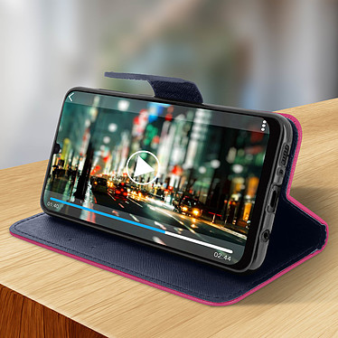 Avis Avizar Etui folio Fuchsia pour Samsung Galaxy A30
