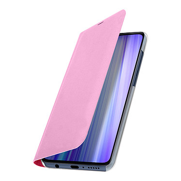 Avizar Etui folio Rose pour Xiaomi Redmi Note 8 Pro pas cher