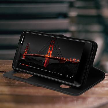 Avis Avizar Etui folio Noir pour Nokia 3.1