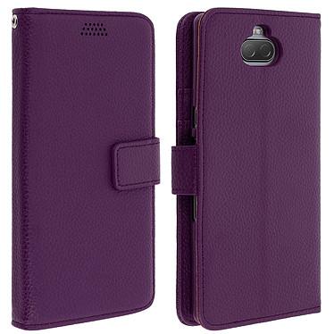 Avizar Etui folio Violet pour Sony Xperia 10 Etui folio Violet Sony Xperia 10