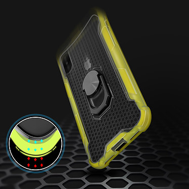 Avis Avizar Coque Jaune pour Apple iPhone X , Apple iPhone XS