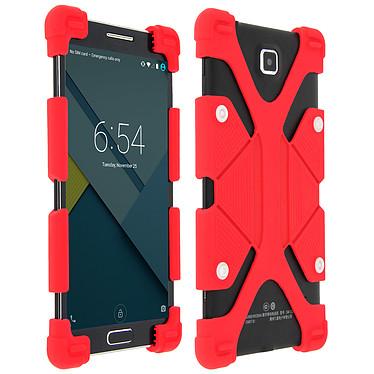Avizar Coque Rouge pour Smartphones de 4.7' à 5.3' pas cher
