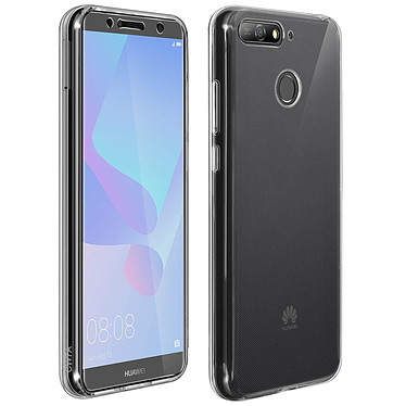 Avizar Pack protection Transparent pour Huawei Y6 2018 Pack protection Transparent Huawei Y6 2018
