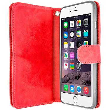 Avizar Etui folio Rouge pour Apple iPhone 6 Plus , Apple iPhone 6S Plus pas cher