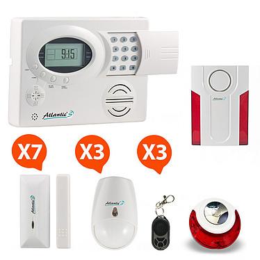 Atlantic'S ST-III - Alarme maison sans fil Kit 7 ST-III - Alarme maison sans fil Kit 7
