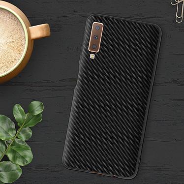 Avis Avizar Coque Noir Souple pour Samsung Galaxy A7 2018