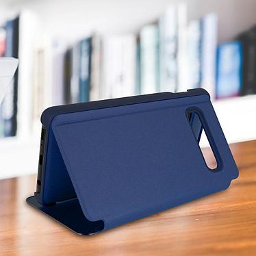 Acheter Avizar Etui folio Bleu Nuit Miroir pour Samsung Galaxy S10 Plus