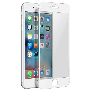 Avizar Film verre trempé Blanc pour Apple iPhone 6 , Apple iPhone 6S pas cher