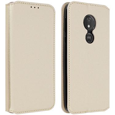 Avizar Etui folio Dorée pour Motorola Moto G7 Power Etui folio Dorée Motorola Moto G7 Power