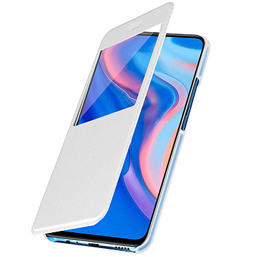 Avizar Etui folio Blanc pour Huawei P Smart Z , Honor 9X pas cher