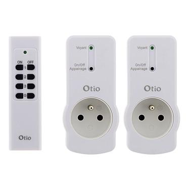 Avis Otio Lot de 2 prises 16A 2P+T télécommandées avec télécommande