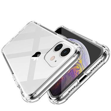 EVETANE Coque iPhone 11 Antichoc Silicone + 2 Vitres en verre trempé Protection écran pas cher