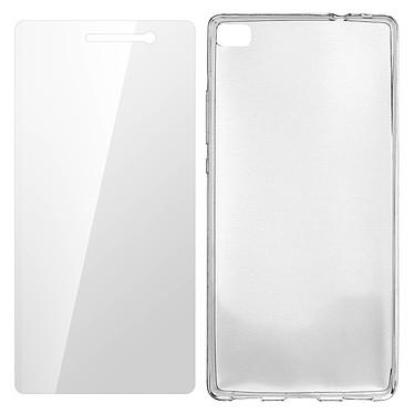 Avizar Pack protection Transparent pour Huawei P8 pas cher