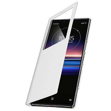 Avizar Etui folio Blanc pour Sony Xperia 1 pas cher
