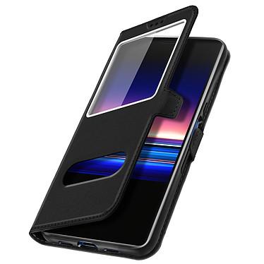 Avizar Etui folio Noir pour Sony Xperia 10 Plus pas cher