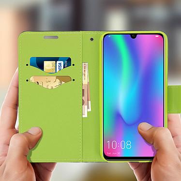 Acheter Avizar Etui folio Bleu Nuit Fancy Style pour Huawei P Smart 2019 , Honor 10 Lite