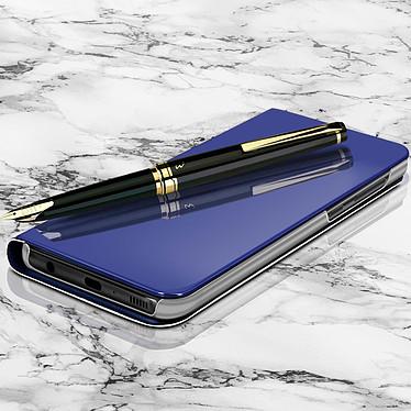 Avizar Etui folio Bleu pour Huawei Mate 10 Lite pas cher