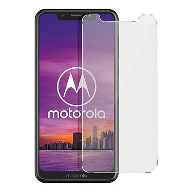 Avizar Film verre trempé Transparent pour Motorola One Film verre trempé Transparent Motorola One