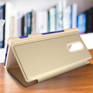 Acheter Avizar Etui folio Dorée Design Miroir pour Sony Xperia 1