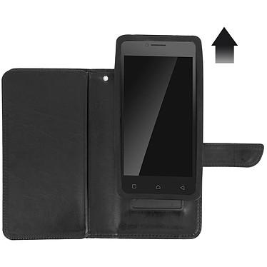 Avis Avizar Etui folio Noir pour Smartphones de 5.0' à 5.3'