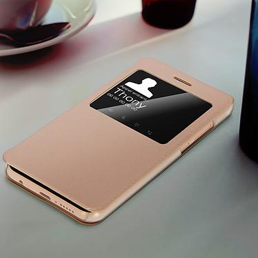 Acheter Avizar Etui folio Dorée pour Huawei P20 Lite
