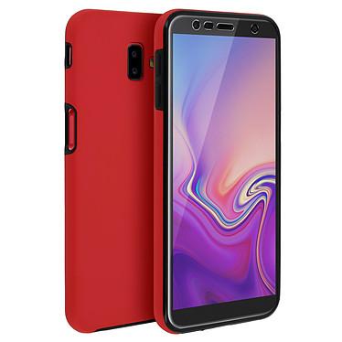 Avizar Coque Rouge pour Samsung Galaxy J6 Plus pas cher