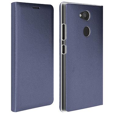 Avizar Etui folio Bleu Nuit pour Sony Xperia L2 Etui folio Bleu Nuit Sony Xperia L2