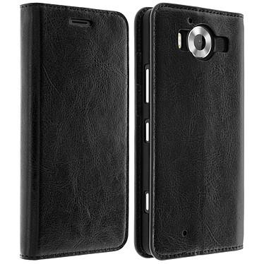 Avizar Etui folio Noir pour Microsoft Lumia 950 , Nokia Lumia 950 pas cher