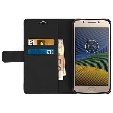 Acheter Avizar Etui folio Noir pour Motorola Moto G5 , Lenovo Moto G5