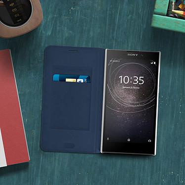 Acheter Avizar Etui folio Bleu Nuit pour Sony Xperia L2