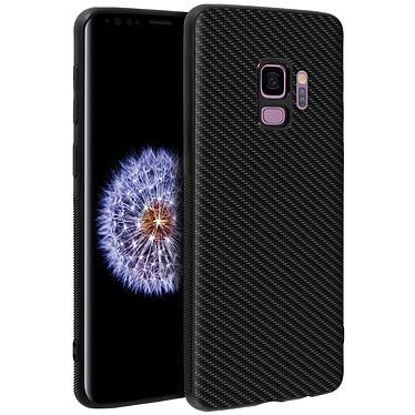 Avizar Coque Noir Souple pour Samsung Galaxy S9 pas cher