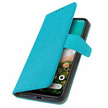 Avizar Etui folio Turquoise pour Xiaomi Mi A3 pas cher