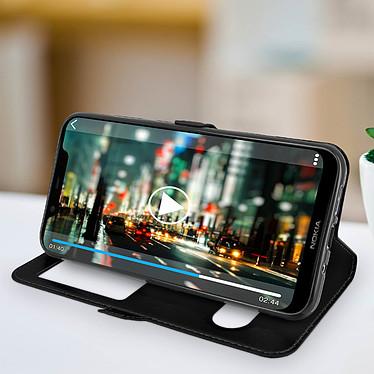 Acheter Avizar Etui folio Noir pour Nokia 8.1