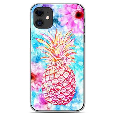 1001 Coques Coque silicone gel Apple iPhone 11 motif Ananas Coque silicone gel Apple iPhone 11 motif Ananas