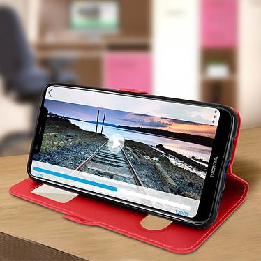 Acheter Avizar Etui folio Rouge pour Nokia 5.1 Plus