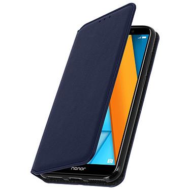 Avizar Etui folio Bleu Nuit pour Honor 7A , Huawei Y6 2018 Etui folio Bleu Nuit Honor 7A , Huawei Y6 2018